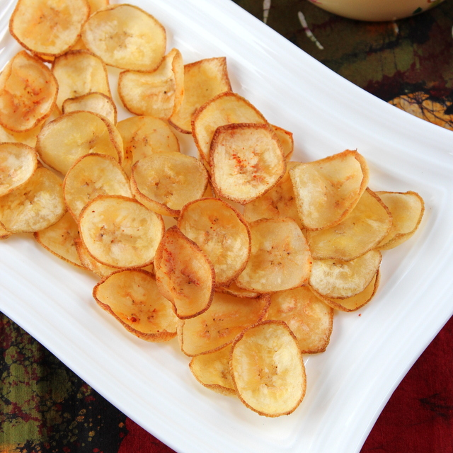 Plantain (Raw Banana) Chips | Cooks Joy