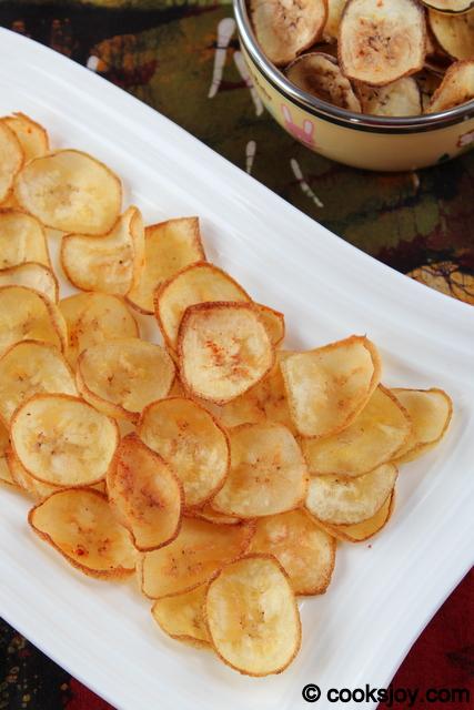 Plantain (Raw Banana) Chips | Cooks Joy