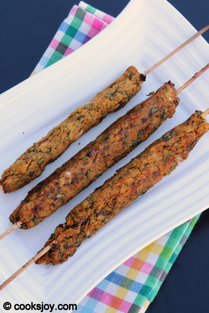 Vegetable Kebab | Cooks Joy