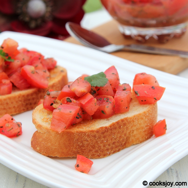 Brushetta | Cooks Joy