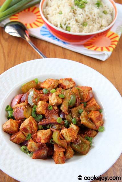 Chilli Tofu | Cooks Joy