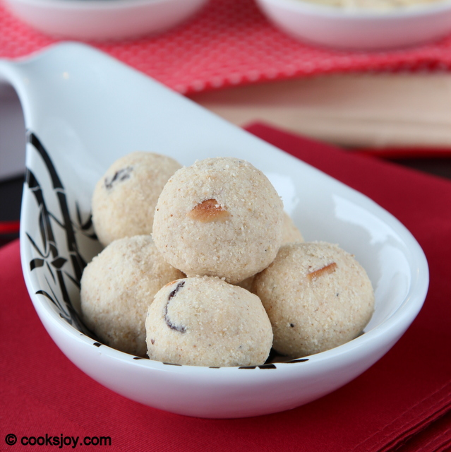 Rava Ladoo | Cooks Joy