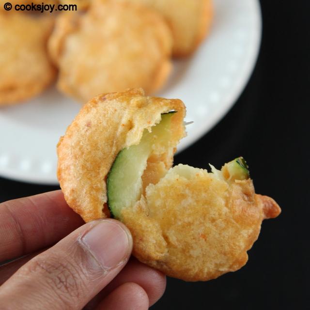 Zucchini Bajji   Cooks Joy