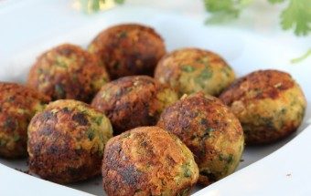 Healthy Zucchini Falafel | Cooks Joy