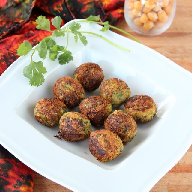 Healthy Zucchini Falafel | Cooks Joy