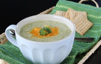Broccoli Cheese Soup | Cooks Joy