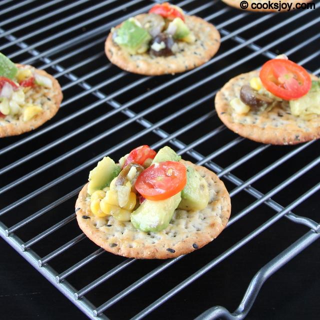 Corn Avocado Salsa | Cooks Joy