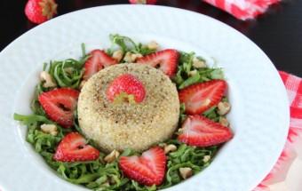 Spinach Quinoa Strawberry Salad | Cooks Joy