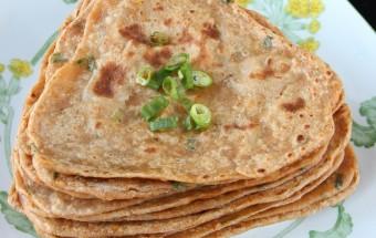 Spring Onion(Scallion) Masala Paratha | Cooks Joy