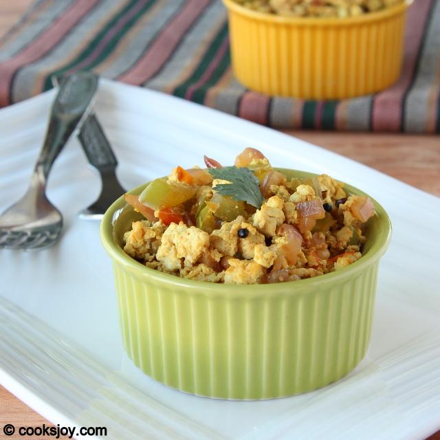 Tofu Scramble (Bhurji)| Cooks Joy