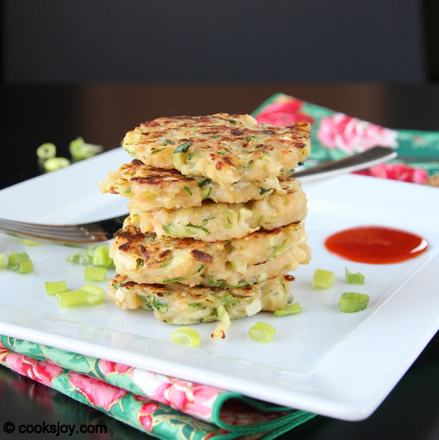 Zucchini Cheese Patties | Cooks Joy