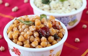 Mookadalai (Channa) Sundal | Cooks Joy