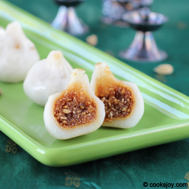 Coconut Kozhukattai - Modhagam (Vinayaka Chaturthi) | Cooks Joy