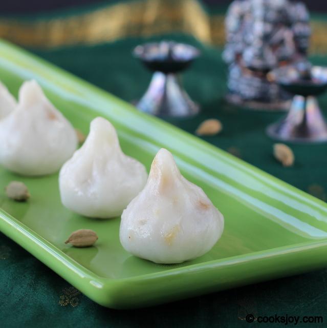 Coconut Jaggery Kozhukattai - Modhagam | Cooks Joy