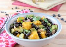 Mango Avocado Black Bean Salad