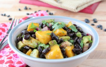 Mango Avocado Bean Salad | Cooks Joy