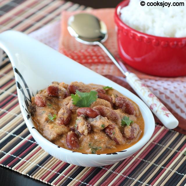 Mushroom Rajma Masala | Cooks Joy