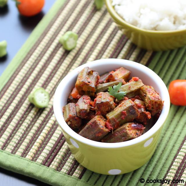 Achari Bhindi (Vendakkai Poriyal) | Cooks Joy