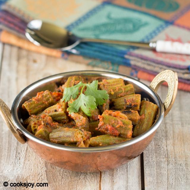 Okra Fry (Achari Bhindhi) | Cooks Joy
