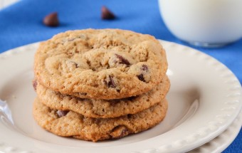 Eggless Chocolate Chip Cookies | Cooks Joy