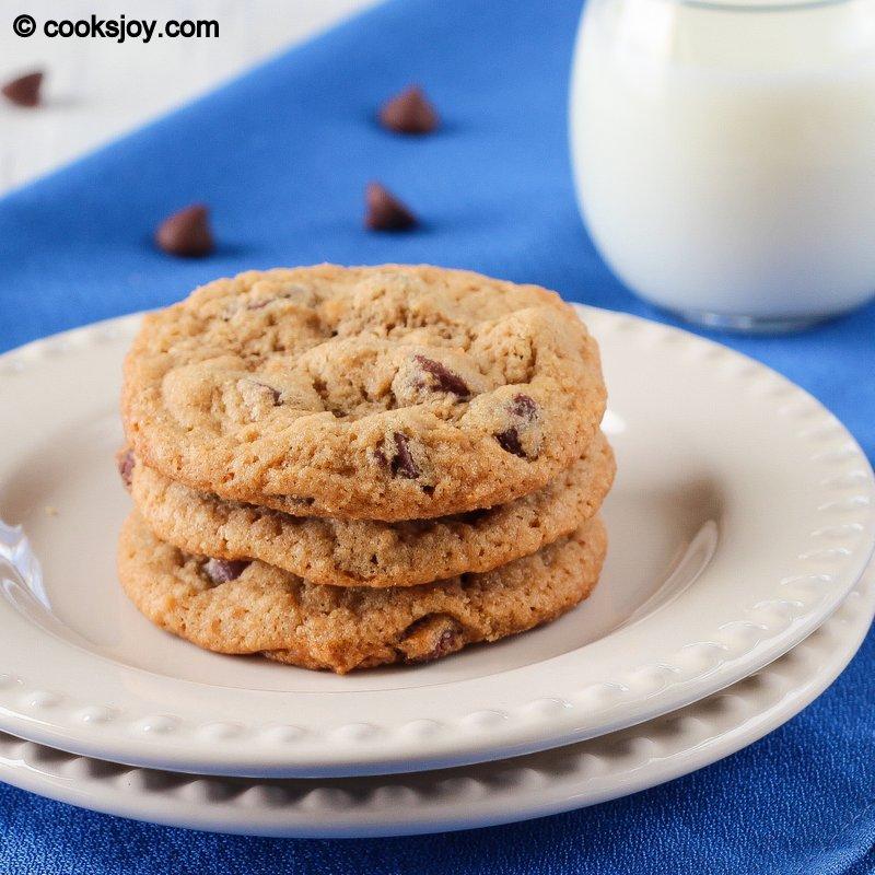 Good food recipes » Choc chip cookies recipe no egg