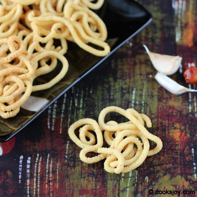 Garlic Murukku (Diwali Snack) | Cooks Joy