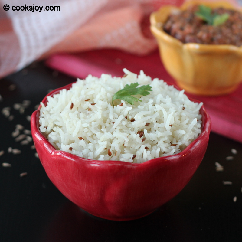 how to cook rice with cumin seeds