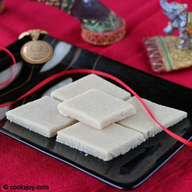 Kaju Katli (Cashew Sweet - Diwali) | Cooks Joy