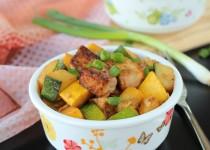 Tofu and Squash Fry