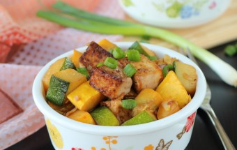 Tofu Squash Stir Fry | Cooks Joy