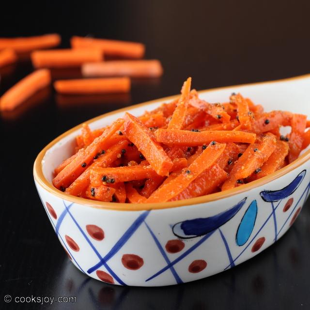 Instant Carrot Pickle | Cooks Joy