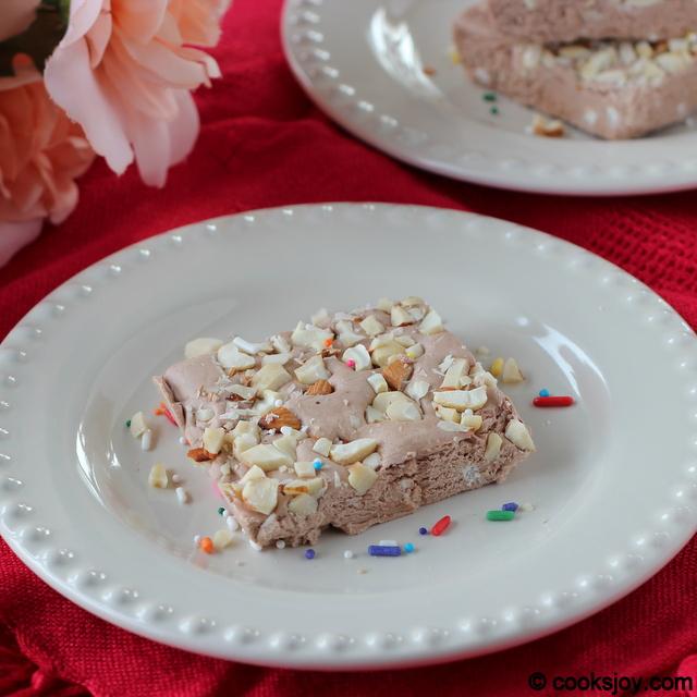 Chocolate Fudge (Burfi) | Cooks Joy