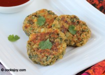 Potato-Spinach-Quinoa Cutlet