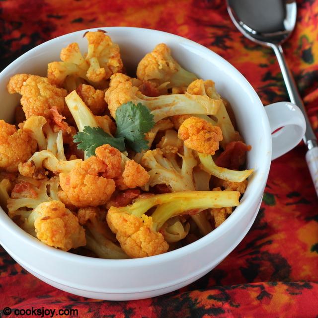 Cauliflower Fry | Cooks Joy