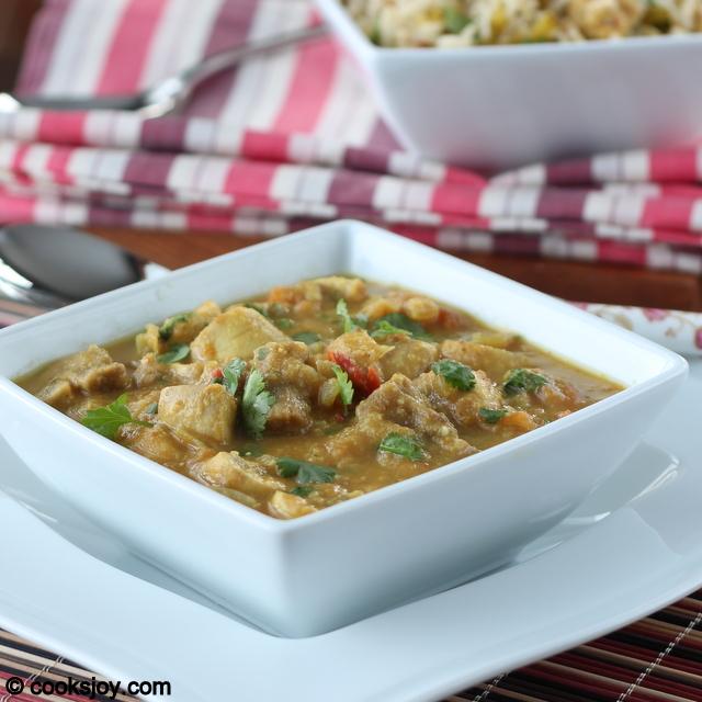 Mushroom Kurma (Korma) | Cooks Joy