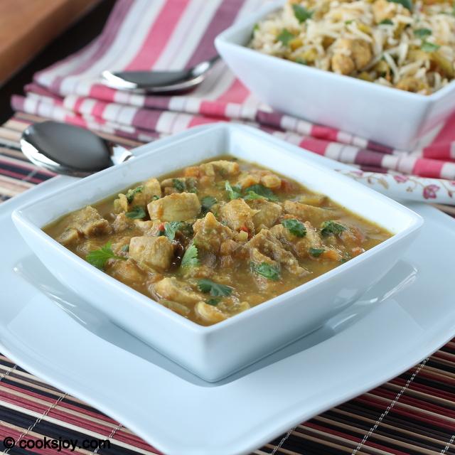 Mushroom Kurma (Kuruma/Korma) | Cooks Joy