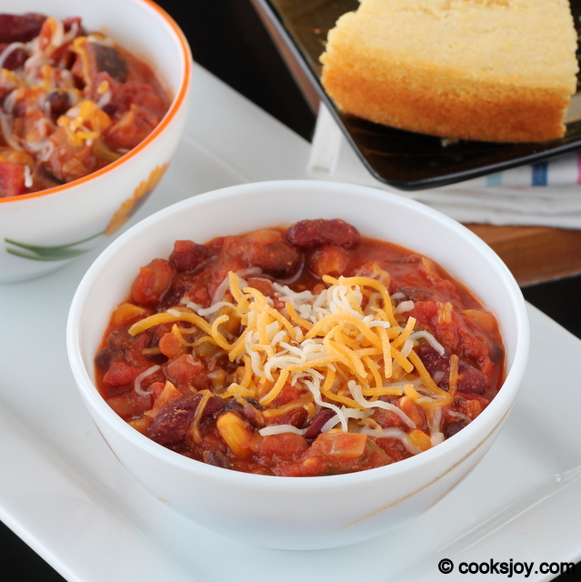 Vegetarian Chilli | Cooks Joy