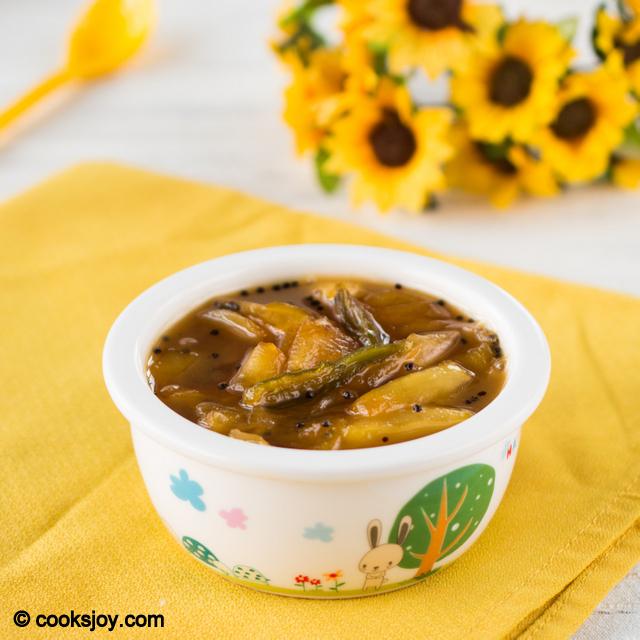 Green Mango Pachadi (Raw Mango Chutney) | Cooks Joy