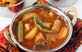 Poricha Kuzhambu | Cooks Joy