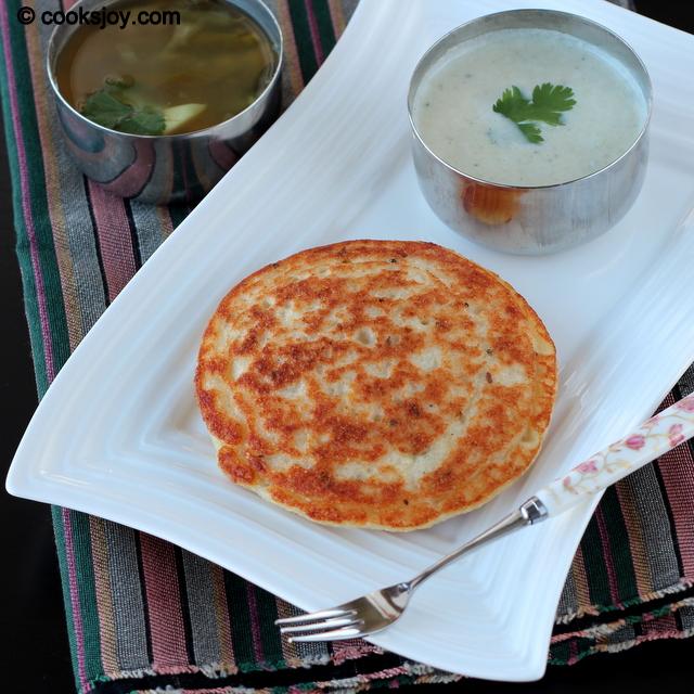 Thavalai Adai (Lentil Pancake) | Cooks Joy