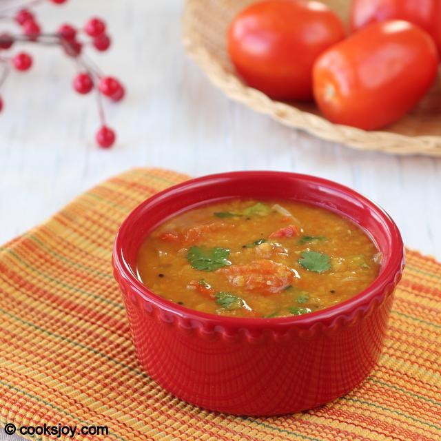 Tomato Sambar | Cooks Joy