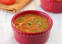 Tomato Sambar (Thakkaali Sambar | Tomato Lentil Gravy)