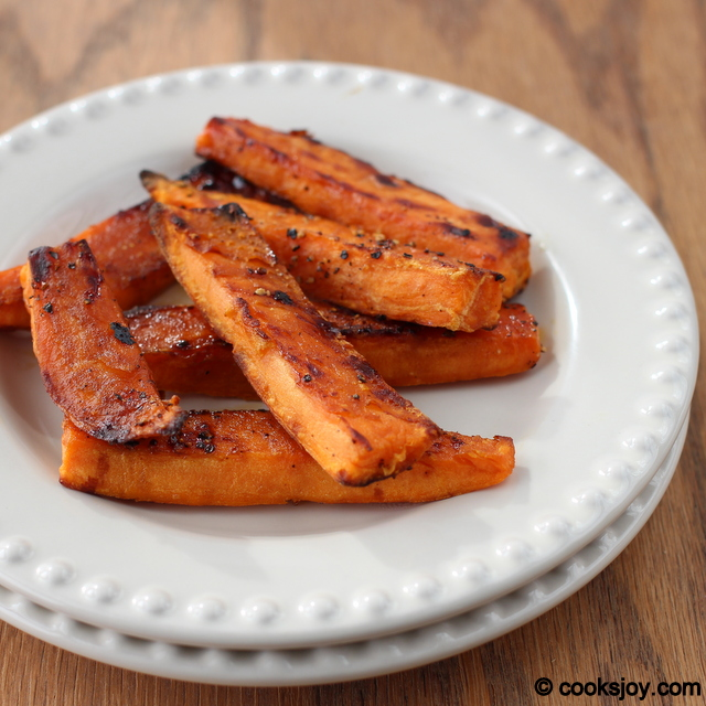 Baked Sweet Potato Wedges | Cooks Joy