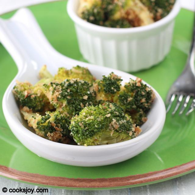 Broccoli Garlic Bread Crumb Fry | Cooks Joy