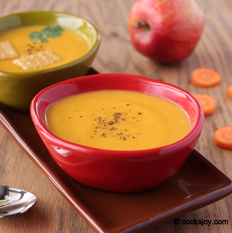 Cooks JoyCarrot Apple Ginger Soup