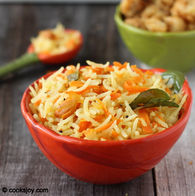 Cooks Joy - Carrot Rice (Carrot Lemon Rice)
