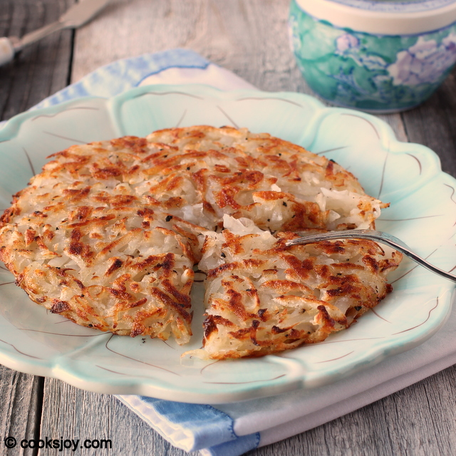 Hashbrown with grated potatoes | Cooks Joy