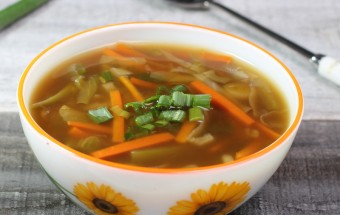 Chinese Vegetable Soup (Hot and Sour Soup) | Cooks Joy
