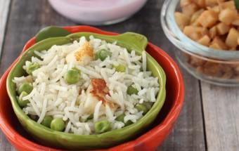 Green Peas Paneer Pulao | Cooks Joy