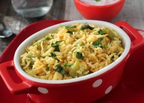 Potato Capsicum(Bell Pepper) Pulao